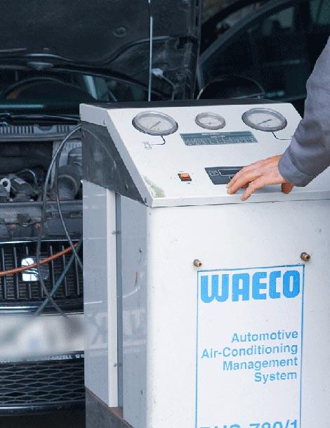 Klima-Service bei Auto-Frank e. K.