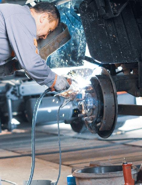LKW-Reparatur bei Auto-Frank e. K.